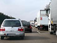Kreis Neu-Ulm: Bis Ende Juli ist die A7 eine Baustelle