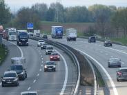 Landkreis Neu-Ulm: Freie Fahrt auf der A7 hat ein Ende