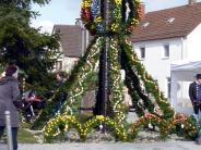 Burlafingen: Eier-Frevel am Burlafinger Osterbrunnen