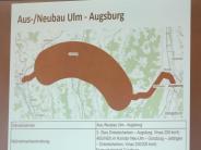 Bahn: Zwischen Ulm und Augsburg geht es bei der Bahn um die Wurst