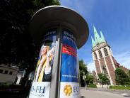 Ulm: Film ab auf der Plakatwand