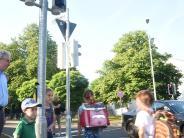 Neu-Ulm: Wenn die Ampel plötzlich spricht