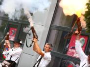 Fest: Schützen sind mit Feiereifer dabei