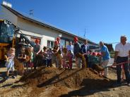 Witzighausen: Jetzt wird am Kindergarten gebuddelt