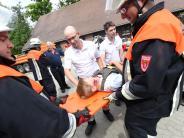 Weißenhorn: Übung der Rettungskräfte: Hand in Hand am Einsatzort