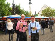 Buntes Programm und viele Besucher: Marktfest in Pfaffenhofen gut besucht