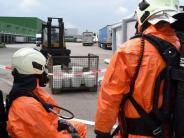 Giftalarm: 900 Liter Salzsäure ausgetreten: Großeinsatz in Neu-Ulm