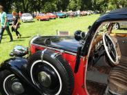 Über 100 Fahrzeuge bei der Old- und...: Neuffen Classics in Weißenhorn