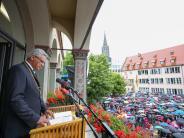 Ulm: Czisch sagt bei Schwörfeier:Ulm soll digitale Vorzeigestadt werden