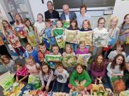 Roggenburg/Neu-Ulm: Bunte Stofftaschen heitern Krebspatienten auf