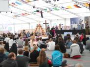 Pfaffenhofen: Beim Prayerfestival wird das Festzelt zur Kirche