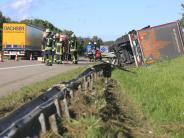 Hittistetten/Nersingen: Nach Unfall auf A7: Polizei zeigt Handyfilmer an