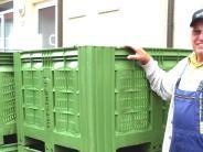 Pfuhl: Die Obstboxen in der Pfuhler Mosterei bleiben leer