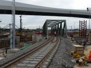Ulm: Am Bahnhof fahren die Züge auf neuen Gleisen