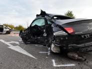 Ulm/Blaubeuren: Erneut zwei Tote bei Unfall auf einer Landstraße