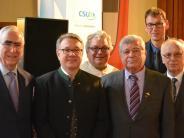 Geburtstag: Roggenburger CSU feiert mit Waigel