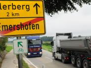 Weißenhorn/Illertissen: Lehmlaster sollen Emershofen und Tiefenbach künftig umfahren