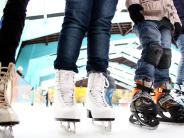 Senden: Radeln in der Eislaufhalle