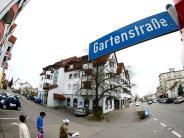 Sanierung: Gartenstraße: Die Stadt wehrt sich