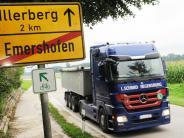 Landkreis Neu-Ulm: Rollen bald Lastwagen durchs Bellenberger Ried?