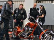 Motorradmesse: 8. Wheelies Alb Donau-Motorradmesse in Ulm