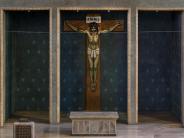 Ulm: Kreuz mit dem Gekreuzigten
