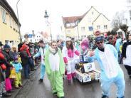 Helau in Pfaffenhofen: Bunter Faschingsumzug durch Pfaffenhofen