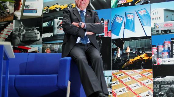 Liqui Moly-Chef Prost lässt 14 Millionen Euro springen