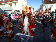 Weißenhorn: Faschingsumzug bei Kaiserwetter