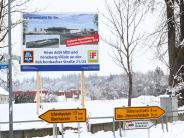 Weißenhorn: Aldisetzte Zeichenauf der Hasenwiese