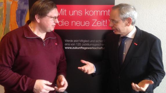 Gewerkschaft: Stärkster Mitgliederzuwachs - Augsburger Allgemeine