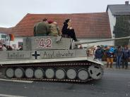 """Ilmtaler Asylabwehr"": ""Asyl-Panzer"" bei Faschingsumzug bleibt ohne juristische Folgen"