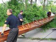 Ingolstadt: Lebensgefahr bei Schulausflug: Ruderboot kentert auf der Donau