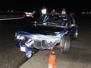 Polizei III: A9: Mehrere Unfälle im Regen