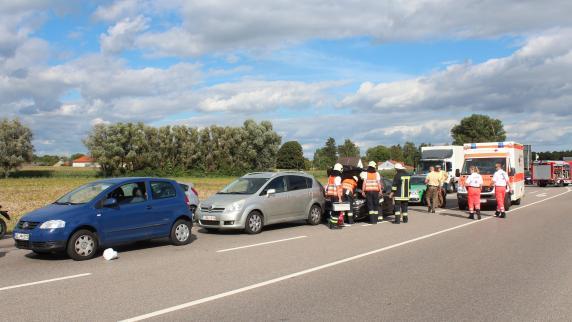 Neuburg: 67-Jähriger meldet Unfall - und stirbt kurz darauf