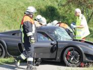 Neuburg: Unfall bei Illdorf: Britische Noble-Karosse mit Rekordschaden