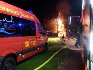 Neuburg: Brandserie: Wieder schlägt der Zündler zu