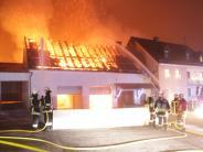 Rennertshofen-Ammerfeld: Großbrand verursacht ein Bild der Verwüstung