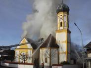 Kreis Eichstätt: Brand der Kirche in Altmannstein verursacht Millionen-Schaden
