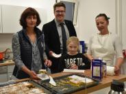 Einweihung: Frisch gekochtes Essen für Schüler