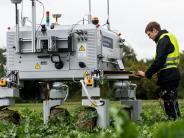 Weichering: Wenn Roboter die Feldarbeit übernehmen