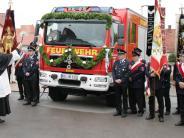 Neuburg: Freude über neues Einsatzfahrzeug