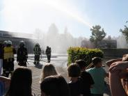 Übung: Feueralarm an der Burgheimer Schule