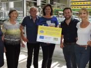Burgheim: Für die neue Abfüllanlage gab's Geld und lobende Worte