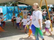 Ehekirchen-Walda: Tanz und Spiel zum Geburtstag der Wirbelwinde