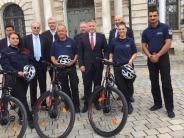 Kommunaler Ordnungsdienst: Mit dem Fahrrad auf Streife