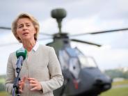Neuburg: Sind die Eurofighter einsatzbereit, Frau Ministerin?