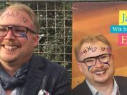 """Neuburg an der Donau: FDP im Wahlkreis Ingolstadt lässt Plakate """"mutwillig verschönern"""""""