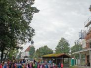 Königsmoos-Ludwigsmoos: Etappensieg auf derBaustelle