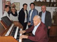 Burgheim-Längloh: 60 Jahre spielte er die Kirchenorgel von Längloh